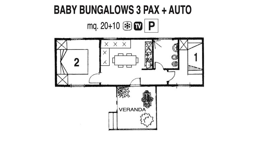 Baby Bungalows - Casa Mobile
